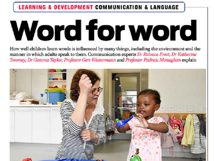 Nursery World Article 2 Word for Wordv3