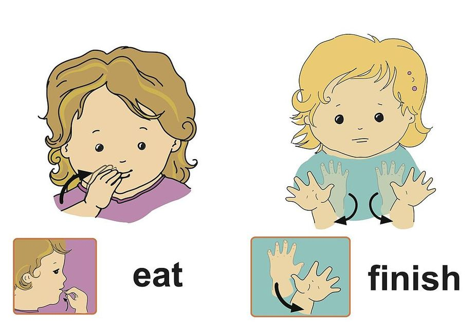 baby sign language Before i was a mother, i was introduced to baby sign language when i babysat for another family they had a little boy who i babysat for occasionally and he was able to do a few signs.